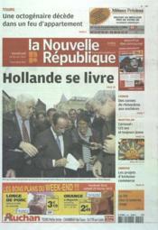 Nouvelle Republique (La) N°20478 du 24/02/2012 - Couverture - Format classique