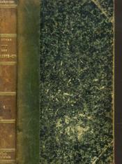 Les Quarante-Cinq. Tome I. - Couverture - Format classique