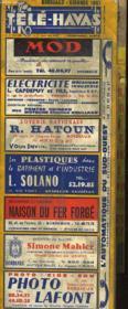 Bordeaux - Liste Alphabetique Des Abonnes - Couverture - Format classique
