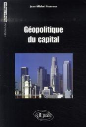 Géopolitique du capital - Intérieur - Format classique