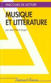 Musique Et Litterature - Parcours De Lecture - Intérieur - Format classique