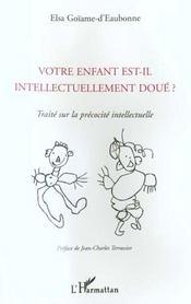 Votre Enfant Est-Il Intellectuellement Doue - Intérieur - Format classique