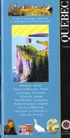 Quebec (Montreal, Estrie, Laurentides, Trois-Rivieres, Charlevo - Intérieur - Format classique