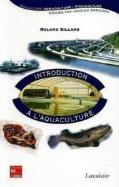 Introduction a l'aquaculture - Couverture - Format classique