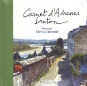Carnet d'adresse breton - Couverture - Format classique