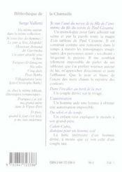 Je Suis L'Ami Du Neveu De La Fille De L'Ami Intime Du Fils Du Voisin De Paul Cezanne - 4ème de couverture - Format classique