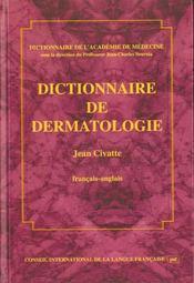 Dictionnaire de dermatologie - Intérieur - Format classique