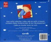 Caillou Decouvre ; Caillou Se Réveille La Nuit - 4ème de couverture - Format classique