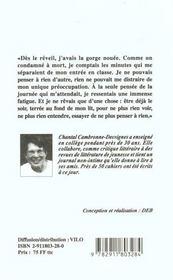 Chahut (Le) - 4ème de couverture - Format classique