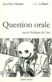 Question orale - Couverture - Format classique