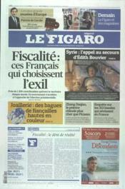 Figaro (Le) N°21015 du 24/02/2012 - Couverture - Format classique