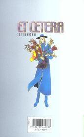 Et cetera t.9 - 4ème de couverture - Format classique
