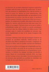 Preparation Aux Epreuves Domaine Sanitaire Et Social Secretaire Medical Medico-Social Administratif - 4ème de couverture - Format classique