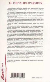 Le chevalier d'Arvieux ; Laurent le magnifique, un humaniste de belle humeur - 4ème de couverture - Format classique