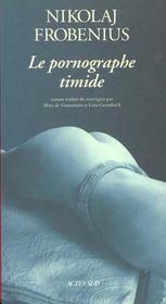 Le pornographe timide - Intérieur - Format classique