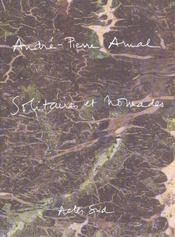 Andre-Pierre Arnal Solitaires Et Nomades - Intérieur - Format classique