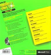 Guide Des Meilleurs Sites Web Edition 2000 - 4ème de couverture - Format classique
