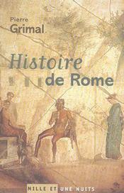 Histoire De Rome - Intérieur - Format classique