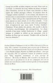 Retour De Rose (Le) - 4ème de couverture - Format classique