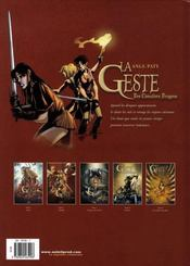 La geste des chevaliers dragons t.5 ; les jardins du palais - 4ème de couverture - Format classique
