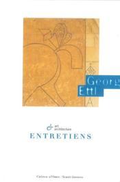 Georg Ettl ; entretiens - Couverture - Format classique