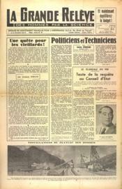 Grande Releve (La) N°89 du 15/06/1951 - Couverture - Format classique