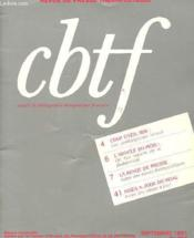 Cahiers De Bibliographie Therapeutique Francaise N°290 - Couverture - Format classique
