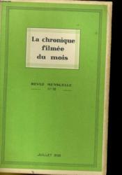 La Chronique Filmee Du Mois N°18 - Couverture - Format classique