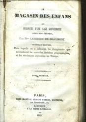 Le Magasin Des Enfans - Ou Dialogue D'Une Sage Gouvernante - Tome 1 - Couverture - Format classique