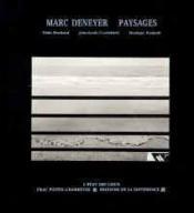Marc Deneyer, paysages - Couverture - Format classique
