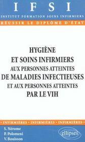 Hygiene Et Soins Infirmiers Aux Personnes Atteintes De Maladies Infectieuses Et Par Le Vih - Intérieur - Format classique
