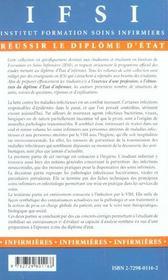Hygiene Et Soins Infirmiers Aux Personnes Atteintes De Maladies Infectieuses Et Par Le Vih - 4ème de couverture - Format classique