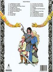 Thorgal T.21 ; La Couronne D'Ogotaï - 4ème de couverture - Format classique