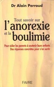 Tout Sav Anorexie Et Boulimie - Intérieur - Format classique