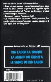 SAS t.149 ; le parrain du 17 novembre - 4ème de couverture - Format classique
