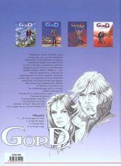 Gord t.1 ; ...et ils ont appris le vent - 4ème de couverture - Format classique
