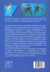 La Gymnastique Aquatique - 4ème de couverture - Format classique