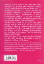 Désert d'avenir ? ; le parti socialiste, 1983-2007 - 4ème de couverture - Format classique