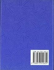 L'alphabet de l'amour - 4ème de couverture - Format classique