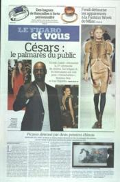 Figaro Et Vous (Le) N°21015 du 24/02/2012 - Couverture - Format classique