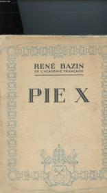 Pie X - Couverture - Format classique