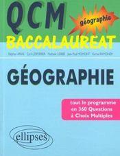 Qcm De Geographie Tout Le Programme En 360 Questions A Choix Multiples - Intérieur - Format classique