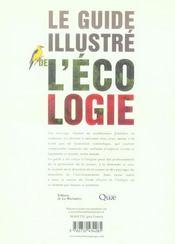 Le guide illustré de l'écologie - 4ème de couverture - Format classique