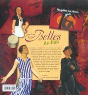 Belles de pub ; la femme dans la publicité - 4ème de couverture - Format classique