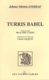 Turris Babel - Couverture - Format classique