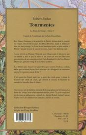 Rivages Fantasy ; La Roue Du Temps ; Tourmentes - 4ème de couverture - Format classique