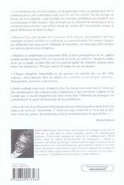 Les 10 Nouveaux Defis Majeurs Pour Le Marketing Et La Communication - 4ème de couverture - Format classique