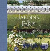 Livre d'heures des jardins de paris - Couverture - Format classique