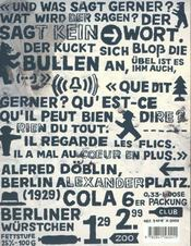 Berlin - 9 - 4ème de couverture - Format classique