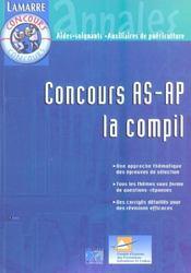 Concours As-Ap La Compil Nouvelle Edition - Intérieur - Format classique
